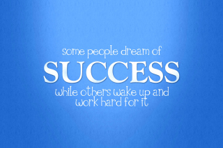 Success Quote - Obrázkek zdarma pro Android 1280x960
