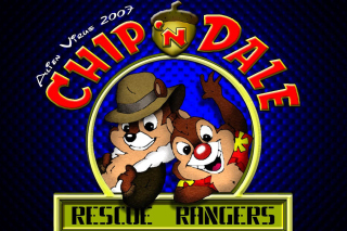 Chip and Dale Cartoon Picture for Sony Ericsson XPERIA X8