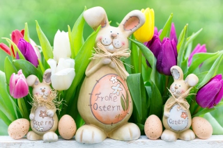 Frohe Ostern Wallpaper for Android, iPhone and iPad