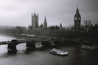 London Black And White Picture for Android, iPhone and iPad