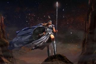 Athena Greek Mythology Goddess Wallpaper for Android, iPhone and iPad