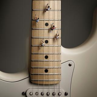 Funny Guitar - Obrázkek zdarma pro 128x128