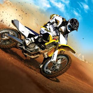 Suzuki Motocross - Obrázkek zdarma pro 2048x2048