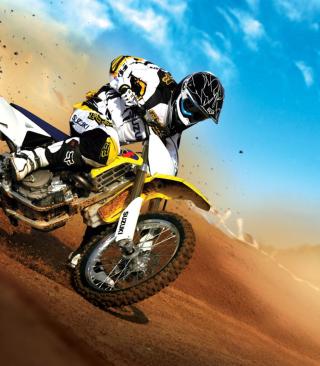 Suzuki Motocross - Obrázkek zdarma pro Nokia 5800 XpressMusic