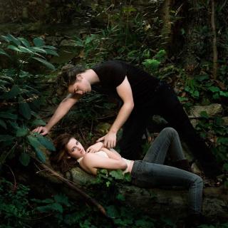 Robert Pattinson With Kristen Stewart - Obrázkek zdarma pro 208x208
