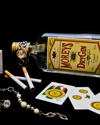 Dry Gin Moreys - Obrázkek zdarma pro 128x160