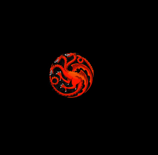 Fire And Blood Dragon - Obrázkek zdarma pro iPad mini