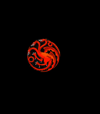 Fire And Blood Dragon - Obrázkek zdarma pro iPhone 3G