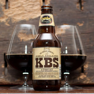 KBS Kentucky Breakfast Stout Stout Ale - Obrázkek zdarma pro 320x320