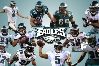 Philadelphia Eagles - Obrázkek zdarma pro Desktop 1280x720 HDTV