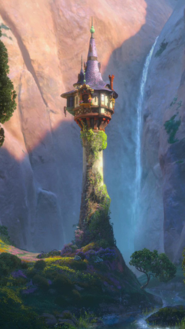 Tangled tower wallpaper for nokia 5233 - Tangled tower wallpaper ...