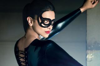 Deepika Padukone in Mask - Obrázkek zdarma pro Samsung Galaxy Tab 7.7 LTE