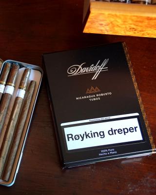 Davidoff and Cohiba Cigars - Obrázkek zdarma pro 360x400