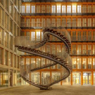 Library in Munich, Germany - Obrázkek zdarma pro iPad