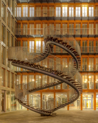 Library in Munich, Germany - Obrázkek zdarma pro 240x432