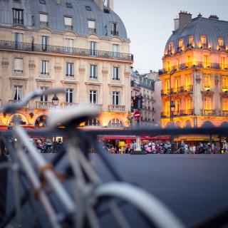 France, Paris Street - Obrázkek zdarma pro 1024x1024