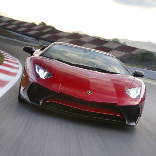 Lamborghini Aventador LP 750 4 Superveloce - Obrázkek zdarma pro iPad 2