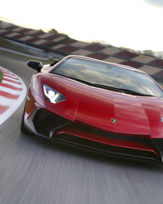 Lamborghini Aventador LP 750 4 Superveloce - Obrázkek zdarma pro 128x160