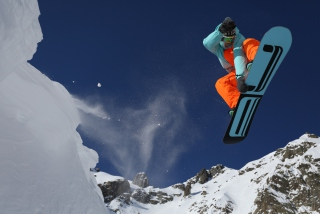 Extreme Snowboarding Picture for Android, iPhone and iPad