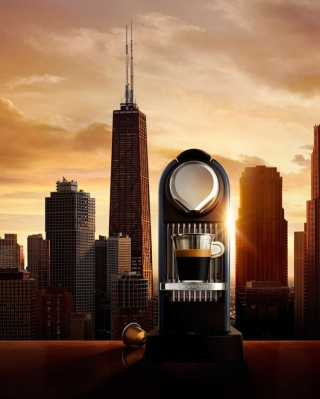 Good Morning Chicago - Obrázkek zdarma pro Nokia Asha 203