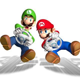 Mario And Luigi - Obrázkek zdarma pro iPad Air