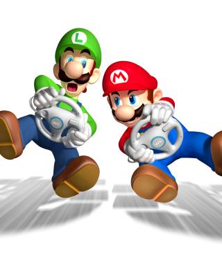 Mario And Luigi - Obrázkek zdarma pro 320x480