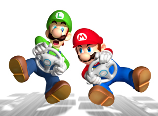 Mario And Luigi - Obrázkek zdarma pro Samsung Galaxy Ace 4
