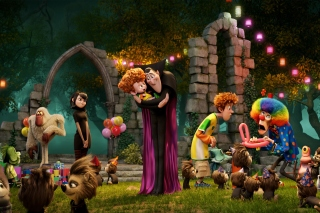 Hotel Transylvania Background for Android, iPhone and iPad