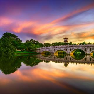Chinese Garden Singapore - Obrázkek zdarma pro iPad 2