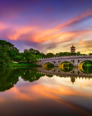 Chinese Garden Singapore - Obrázkek zdarma pro Nokia Lumia 820