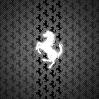 Ferrari Logo - Obrázkek zdarma pro 320x320