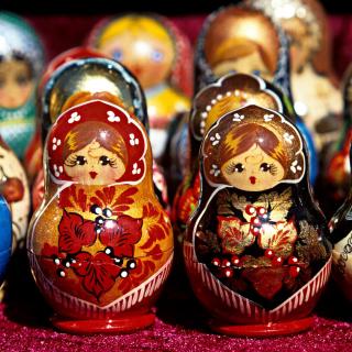 Matryoshka   Russian Dolls - Obrázkek zdarma pro 128x128