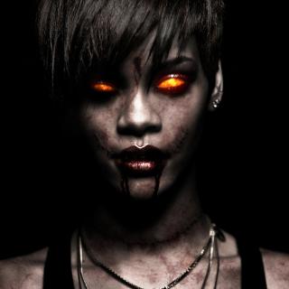 Rihanna Zombie - Obrázkek zdarma pro 2048x2048
