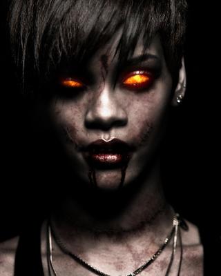 Rihanna Zombie - Obrázkek zdarma pro Nokia Asha 303