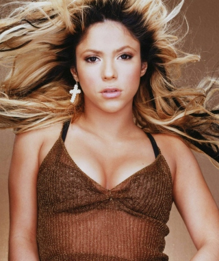 Dancing Shakira - Obrázkek zdarma pro Nokia X2