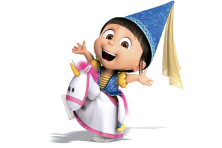 Agnes Despicable Me Wallpaper for Android, iPhone and iPad