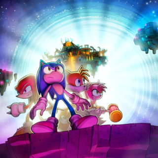 Sonic Friends - Obrázkek zdarma pro iPad