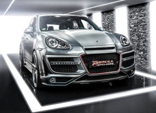 Porsche Cayenne Tuning Wallpaper for Android, iPhone and iPad
