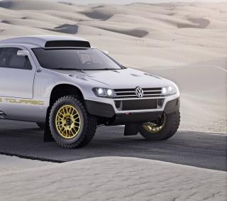 VW Race Touareg - Obrázkek zdarma pro iPad