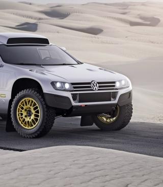 VW Race Touareg - Obrázkek zdarma pro iPhone 6 Plus