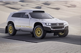 VW Race Touareg - Obrázkek zdarma pro 220x176