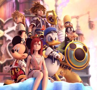 Kingdom Hearts - Obrázkek zdarma pro iPad mini