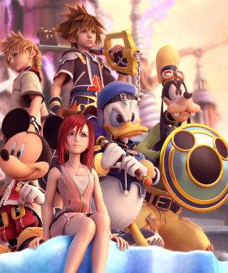 Kingdom Hearts - Obrázkek zdarma pro Nokia Asha 203