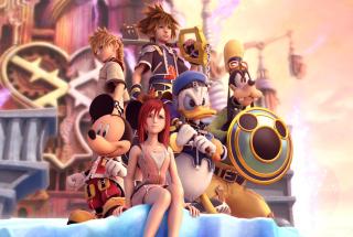 Kingdom Hearts - Obrázkek zdarma pro HTC Desire