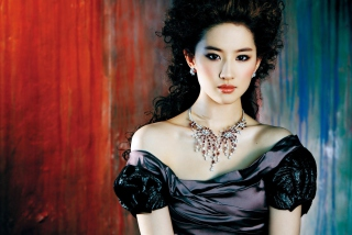Free Liu Yifei Chinese Actress Picture for Android, iPhone and iPad