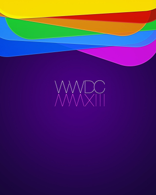 WWDC, Apple - Obrázkek zdarma pro iPhone 5C