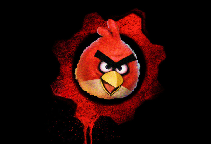 Big angry birds wallpaper for android iphone and ipad - Jeu info angry birds ...