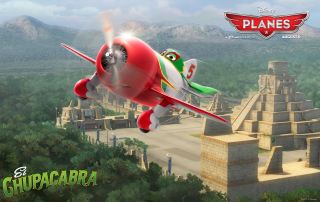 Disney Planes - El Chupacabra Picture for Android, iPhone and iPad