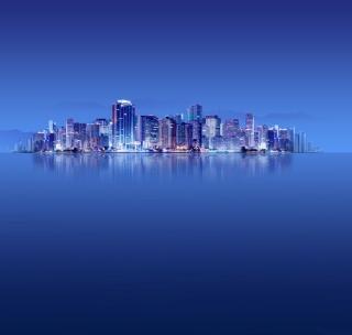 Blue City HD - Obrázkek zdarma pro iPad 2