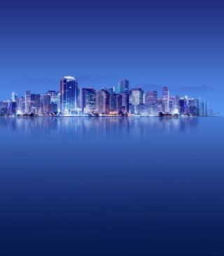 Blue City HD - Obrázkek zdarma pro Nokia Asha 308